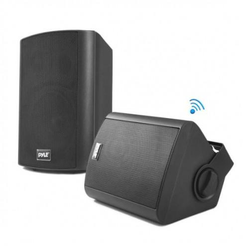 """Bocinas Impermeables de 6.5"""" con Bluetooth y RF Pyle PDWR62BTBK (negro) (par)"""