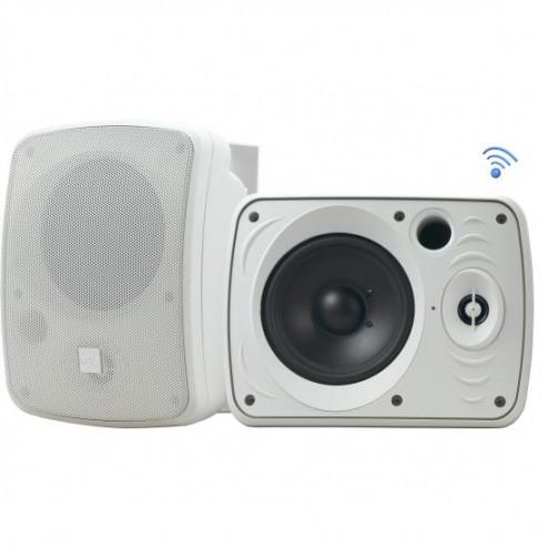 """Bocinas Impermeables de 800w con Bluetooth y RF de 5.25"""" Pyle PDWR55BTRFW (blanco) (par)"""