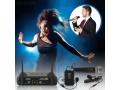 Micrófono Inalámbrico UHF (kit) Pyle PDWM3378 - Mano, Diadema y Solapa