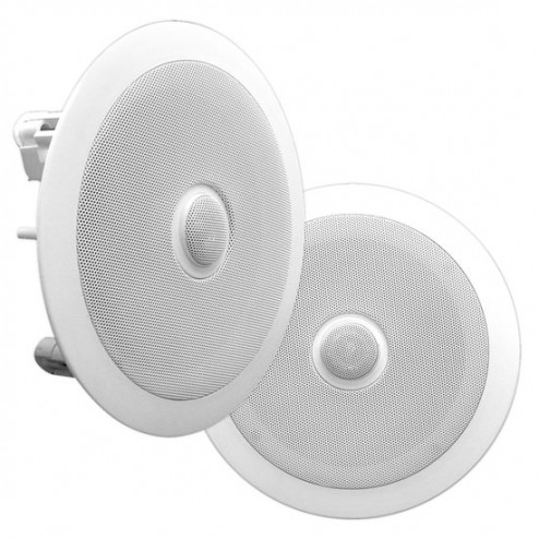 """Bocinas de 8"""" Empotrables Blancas Pyle PDIC80 (blanco) (par)"""